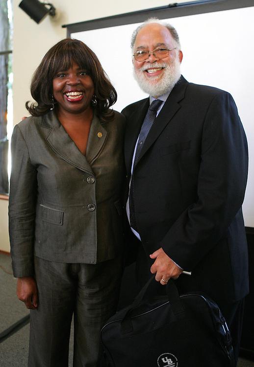 October 22, 2008; Santa Cruz, CA, USA; Professor John Rickford visits the campus of UC Santa Cruz. Photo by: Phillip Carter