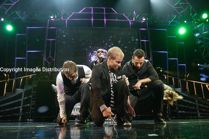 Montreal (Qc) Canada - August 16 2010 - Backstreet Boys