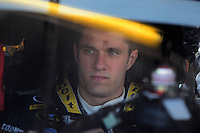 Apr 10, 2008; Avondale, AZ, USA; NASCAR Sprint Cup Series driver David Ragan during practice for the Subway Fresh Fit 500 at Phoenix International Raceway. Mandatory Credit: Mark J. Rebilas-
