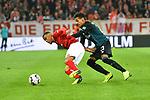 04.11.2018, Opel-Arena, Mainz, GER, 1 FBL, 1. FSV Mainz 05 vs SV Werder Bremen, <br /> <br /> DFL REGULATIONS PROHIBIT ANY USE OF PHOTOGRAPHS AS IMAGE SEQUENCES AND/OR QUASI-VIDEO.<br /> <br /> im Bild: Theodor Gebre Selassie (#23, SV Werder Bremen) gegen Robin Quaison (#7, FSV Mainz)<br /> <br /> Foto © nordphoto / Fabisch