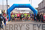 Ballybunion Half Marathon : The start of the Ballybunion Half marathon race on Saturday.