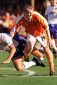 23/09/2000 Football League Division 3 Blackpool v Chesterfield<br /> <br /> 38287 Nowland<br /> <br /> © Phill Heywood