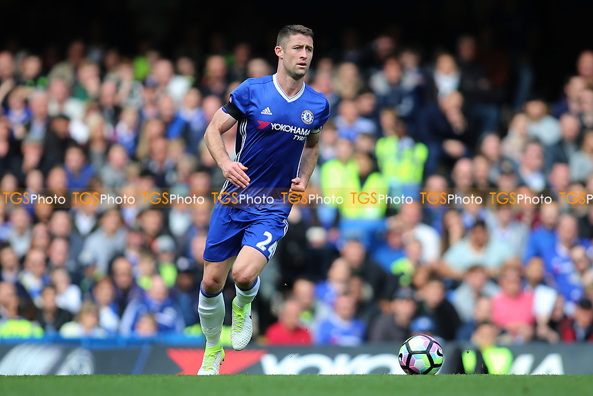 Gary Cahill of Chelsea during Chelsea vs Crystal Palace, Premier League Football at Stamford Bridge on 1st April 2017