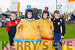 Seamus Lucey, Félim O'Sullivan, Eoin Stack and Diarmuid Beehan enjoying the Ballyheigue Festival on Sunday