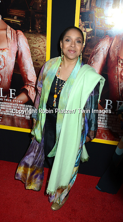 "Phylicia Rashad attends the New York Premiere of "" Belle"" on April 28, 2014 at The Paris Theatre in New York City, New York, USA."
