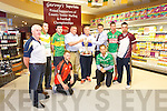 The County Senior Hurling and Football championship Drew held at Garvey's on Monday pictured Ger McCarthy, Hurling Officer, Barry O'Grady, Ballyduff, Patrick O'Sullivan, Chairman, Anthony Feeley, Causeway, Shane Nolan, Crotta, Darren Delaney, Ardfert, Martin Stackpoole, Lixnaw, Seanie Murnane, Kilmoyley, Shane Dunne, Ballyheigue, Jim Garvey, Financial Director Garveys