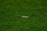 11.03.2018, Signal Iduna Park, Dortmund, GER, 1.FBL, Borussia Dortmund vs Eintracht Frankfurt, <br /> <br /> im Bild | picture shows:<br /> G&auml;stefans der Eintracht bewerfen Marco Reus (Borussia Dortmund #11) mit Feuerzeugen, <br /> <br /> <br /> Foto &copy; nordphoto / Rauch