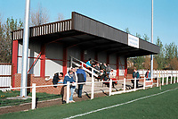 General view of Dunston Federation Brewery FC Football Ground, Federation Park, Wellington Road, Dunston, Gateshead, pictured on 10th April 1993