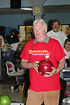 Jerry ver Dorn bowls - host at 13th Annual Daytime Stars and Strikes Bowling for Autism on April 23, 2016 at Bowler City Lanes in Hackensack, NJ. (Photo by Sue Coflin/Max Photos)