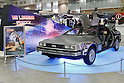 A replica of the DeLorean car from Back to the Future on display at the Tokyo Comic Con in Makuhari Messe International Exhibition Hall on December 2, 2016, Tokyo, Japan. Tokyo's Comic Con is part of the San Diego Comic-Con International event and is being held for the first time in Japan from December 2 to 4, 2016. (Photo by Rodrigo Reyes Marin/AFLO)