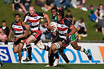 Gary Saifoloi. Air New Zealand Cup rugby game between the Counties Manukau Steelers & Manawatu Turbos, played at Growers Stadium Pukekohe on Staurday September 20th 2008..Counties Manukau won 27 - 14 after trailing 14 - 7 at halftime.