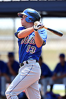 GCL Mets first baseman Ryan Hutson #13 during a game against the GCL Nationals at the Washington Nationals Minor League Complex on June 20, 2011 in Melbourne, Florida.  The Nationals defeated the Mets 5-3.  (Mike Janes/Four Seam Images)