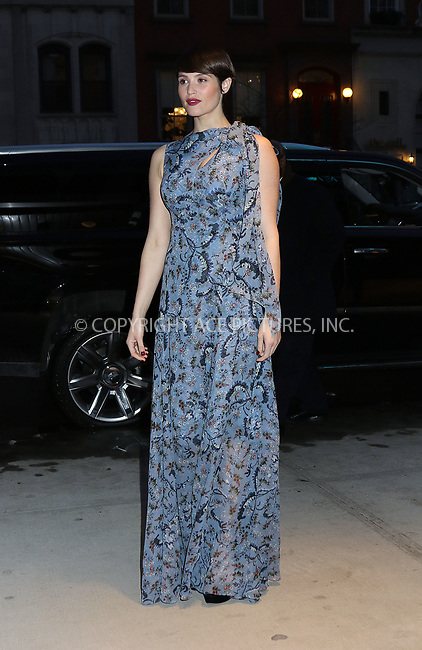 www.acepixs.com<br /> <br /> March 23 2017, New York City<br /> <br /> Actress Gemma Arterton arriving at the premiere of 'Their Finest' at the SVA Theatre 2 on March 23, 2017 in New York City.<br /> <br /> By Line: Philip Vaughan/ACE Pictures<br /> <br /> <br /> ACE Pictures Inc<br /> Tel: 6467670430<br /> Email: info@acepixs.com<br /> www.acepixs.com