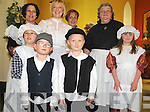 COSTUME DRAMA: Saoirse Nolan, Aaron Nolan, Thomas McCarthy, Julie McCarthy, Norma McCarthy, Caroline O'Shea, Siiobhan O'Shea, Kathy O'Brien had fun dressing up in costumes for the 150th anniversary celebrations of Lauragh School on Saturday.v