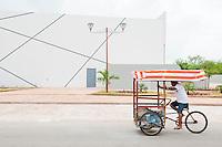 Teatro de Calkini. Campeche, Mexico