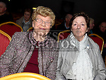 Mary Bolger and Maura Grogan at The High Kings at St. Kevins Community Centre Phillipstown. Photo:Colin Bell/pressphotos.ie