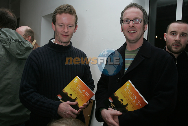 Book Launch Island of the Setting Sun..Photo: Fran Caffrey/ Newsfile.<br />