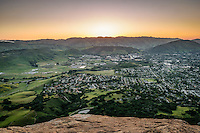 San Luis Obispo Community View from Bishop Peak