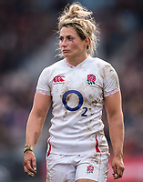 England Women's Vicky Fleetwood <br /> <br /> Photographer Bob Bradford/CameraSport<br /> <br /> 2020 Women's Six Nations Championship - England v Wales - Saturday 7th March 2020 - The Stoop - London<br /> <br /> World Copyright © 2020 CameraSport. All rights reserved. 43 Linden Ave. Countesthorpe. Leicester. England. LE8 5PG - Tel: +44 (0) 116 277 4147 - admin@camerasport.com - www.camerasport.com