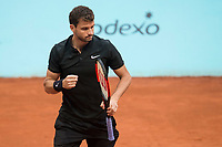 Bulgarian Grigor Dimitrov during Mutua Madrid Open Tennis 2017 at Caja Magica in Madrid, May 10, 2017. Spain.<br /> (ALTERPHOTOS/BorjaB.Hojas) /NortePhoto.com **NortePhoto.com
