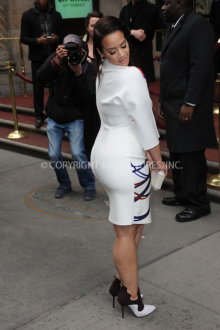 WWW.ACEPIXS.COM<br /> April 24, 2015 New York City<br /> <br /> Dascha Polanco arriving to attend a luncheon for Variety's &quot;Inspiration Impact Honorees&quot; at Cipriani 42nd Street  on April 24, 2015 in New York City. <br /> <br /> By Line: Kristin Callahan/ACE Pictures<br /> ACE Pictures, Inc.<br /> tel: 646 769 0430<br /> Email: info@acepixs.com<br /> www.acepixs.com
