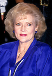 Betty White pictured in 1992.