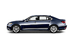 Car Driver side profile view of a 2016 Lexus LS L 4 Door Sedan 2WD Side View