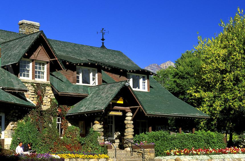 Jasper National Park Visitor Center.  Alberta, Canada.