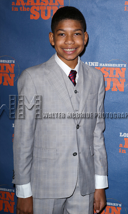 """Bryce Clyde Jenkins attends the Broadway Opening Night After Party for  """"A Raisin In The Sun"""" at Tribeca Rooftop on April 3, 2014 in New York City."""