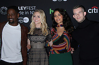 NEW YORK, NY-October 17: Blair Underwood,Johanna Braddy,Yasmine al Massri, Russell Tovey at PaleyFest New York presents Quantico at the Paley Center for Media in New York.October 17, 2016. Credit:RW/MediaPunch