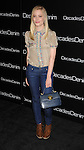 BEVERLY HILLS, CA. - November 02: Gillian Jacobs arrives at the Decades Of Denim Launch Party at a private residence on November 2, 2010 in Beverly Hills, California.