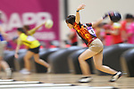 Futaba Imai (JPN), <br /> AUGUST 22, 2018 - Bowling : <br /> Women's Trios Block 2 <br /> at Jakabaring Sport Center Bowling Center <br /> during the 2018 Jakarta Palembang Asian Games <br /> in Palembang, Indonesia. <br /> (Photo by Yohei Osada/AFLO SPORT)