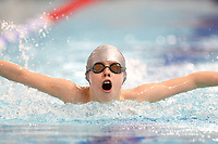 Picture by Richard Blaxall/SWpix.com - 15/04/2018 - Swimming - EFDS National Junior Para Swimming Champs - The Quays, Southampton, England - Balthazar Bradshaw of Chelsea & Westminster during the Men's MC 100m Butterfly