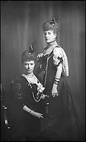 BNPS.co.uk (01202 558833)Pic: IanShapiro/BNPS<br /> <br /> The Dowager Empress and her sister Queen Alexandra.<br /> <br /> A Russian Grand Duke branded King George V a 'scoundrel' who 'did not lift a finger' to save the Romanov family in the revolution there of 1917, explosive diaries have revealed.<br /> <br /> The cousin of the overthrown Russian Royal family blamed the British King for their executions because he failed to grant them refuge.<br />  <br /> Dmitri Pavlovich no-holds-barred diary extracts have been published for the first time in a new book by respected historian Coryne Hall, To Free The Romanovs.