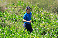 Haydn Porteous (RSA), Jeunghun Wang (KOR) during the final round of the NBO Open played at Al Mouj Golf, Muscat, Sultanate of Oman. <br /> 18/02/2018.<br /> Picture: Golffile | Phil Inglis<br /> <br /> <br /> All photo usage must carry mandatory copyright credit (&copy; Golffile | Phil Inglis)