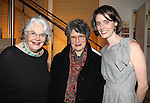 Lois Smith, Mary Louise Wilson & Amy Herzog attending the Opening Night for the Playwrights Horizons World Premiere Production of 'The Great God Pan' at Playwrights Horizons Theatre in New York City on December 18, 2012