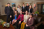 2014 Ohio University Seniors of the Cutler Scholar program and staff. Photo by Ohio University / Jonathan Adams