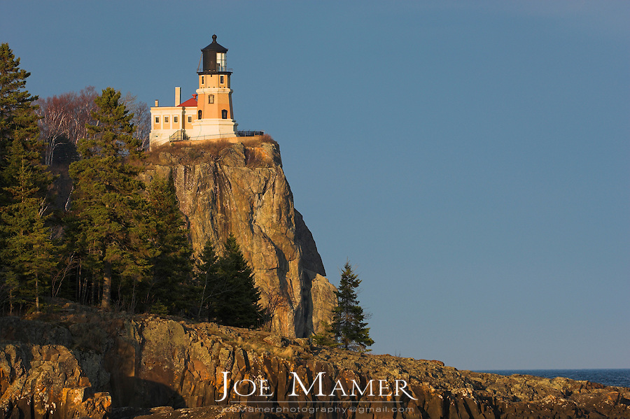 Split Rock Lighthouse on the north shore of Lake Superior near Silver Bay, Minnesota, USA