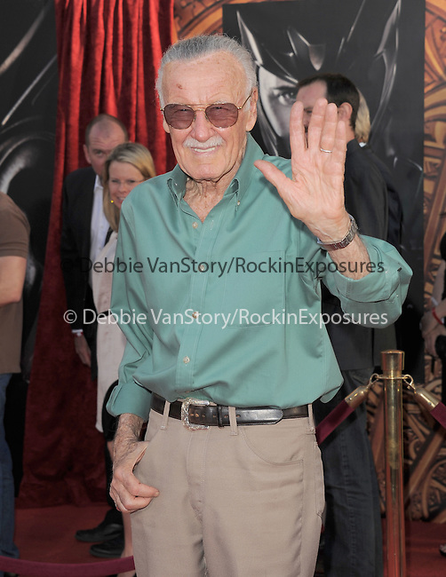 Stan Lee at The Marvel Studios Premiere of THOR held at The El Capitan Theatre in Hollywod, California on May 02,2011                                                                               © 2010 Hollywood Press Agency