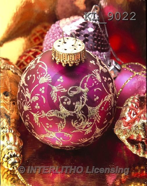 Interlitho-Alberto, CHRISTMAS SYMBOLS, WEIHNACHTEN SYMBOLE, NAVIDAD SÍMBOLOS, photos+++++,pink ball,KL9022,#XX#