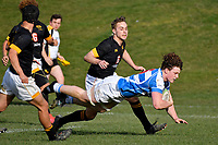 College Rugby - St Patrick's College, Silverstream v Wellington College at St Patrick's College, Silverstream, Upper Hutt, New Zealand on Wednesday 29 July 2020. <br /> Photo by Masanori Udagawa. <br /> www.photowellington.photoshelter.com