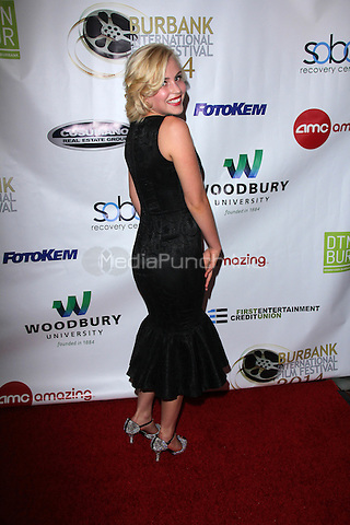BURBANK, CA - SEPTEMBER 3: Madison Rose at the 6th Annual Burbank International Film Festival Opening Night at AMC in Burbank, CA on September 3, 2104. Credit: David Edwards/DailyCeleb/MediaPunch