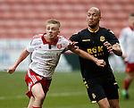 Brodie Litchfield of Sheffield Utd during the Professional Development League match at Bramall Lane Stadium, Sheffield. Photo credit should read: Simon Bellis/Sportimage