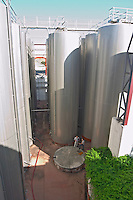 outside fermentation and storage tanks herdade do esporao alentejo portugal
