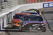 #18: Kyle Busch, Joe Gibbs Racing, Toyota Camry Snickers Creamy, #41: Daniel Suarez, Stewart-Haas Racing, Ford Mustang Arris