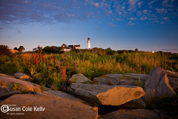 Cape Elizabeth Light, Twin Lights State Park, Cape Elizabeth, Greater Portland, ME