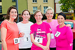 Liz Lane, Denise O'Connor, Nelligan, Eileen O'Sullivan and Michelle Foley at the Castleisland 5km  road race on Friday evening