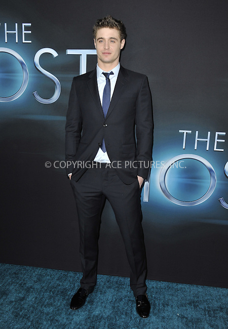 WWW.ACEPIXS.COM....March 19 2013, LA....Max Irons arriving at the 'The Host' Los Angeles premiere at the ArcLight Cinemas Cinerama Dome on March 19, 2013 in Hollywood, California. ....By Line: Peter West/ACE Pictures......ACE Pictures, Inc...tel: 646 769 0430..Email: info@acepixs.com..www.acepixs.com