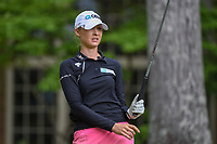 Nelly Korda (USA) watches her tee shot on 14 during round 2 of the U.S. Women's Open Championship, Shoal Creek Country Club, at Birmingham, Alabama, USA. 6/1/2018.<br /> Picture: Golffile | Ken Murray<br /> <br /> All photo usage must carry mandatory copyright credit (&copy; Golffile | Ken Murray)