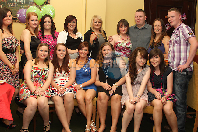 Michelle Leddy with friends at her 21st in The Star and Crescent...Photo NEWSFILE/Jenny Matthews.(Photo credit should read Jenny Matthews/NEWSFILE)....This Picture has been sent you under the condtions enclosed by:.Newsfile Ltd..The Studio,.Millmount Abbey,.Drogheda,.Co Meath..Ireland..Tel: +353(0)41-9871240.Fax: +353(0)41-9871260.GSM: +353(0)86-2500958.email: pictures@newsfile.ie.www.newsfile.ie.FTP: 193.120.102.198.